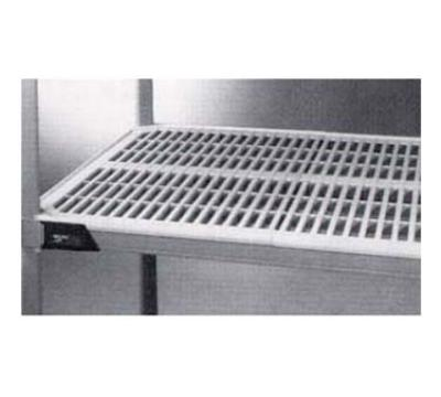 "Metro MX2472G Polymer Louvered Shelf - 72""L x 24""W"