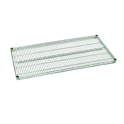 "Metro J2448K Wire Shelf - 24"" x 48"", Epoxy Coated, Green"