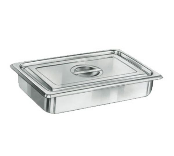Polar Ware 1002P Utility Pan, 1-1/2 qt., No Handle, Stainless Steel, NSF