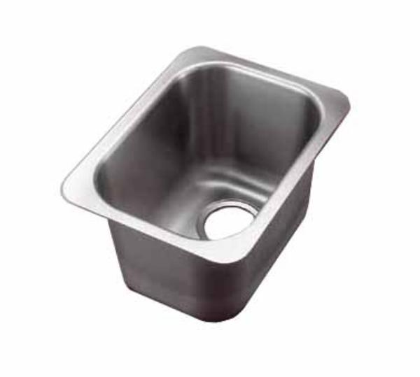 Polar Ware 10101-1R Yukon Institutional Drop-In Sink w/ Round Corners