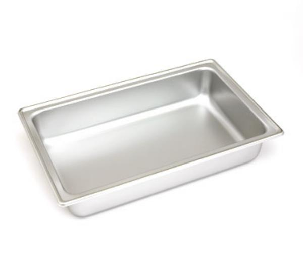 Polar Ware 1044D Dripless Water Pan, 21-3/4 in x 13-7/8 in x 4-5/8 in, Stainless Steel
