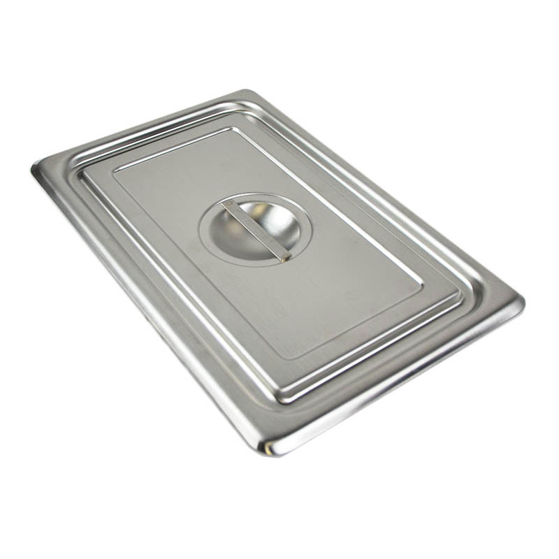 Vollrath 12022 Stainless Solid Utility Pan Cover w/Handle For Model 1202, NSF