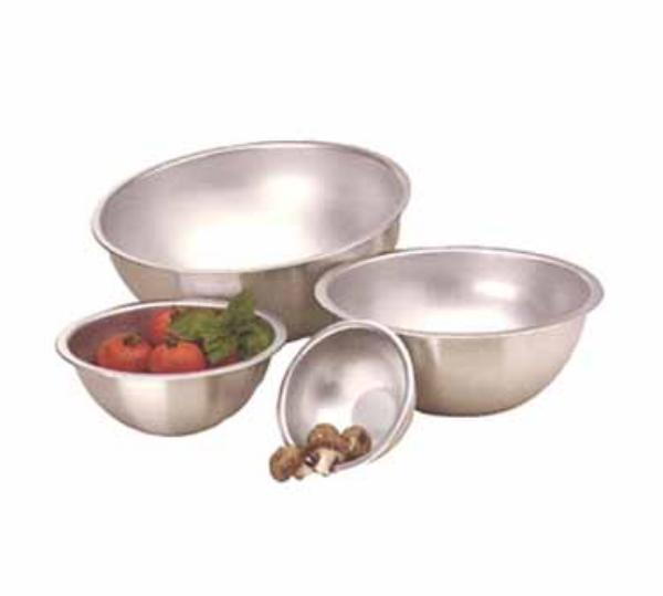 Polar Ware 30A Mixing Bowl, 6-3/4 Qt., Heavy Weight Stainless Steel, NSF