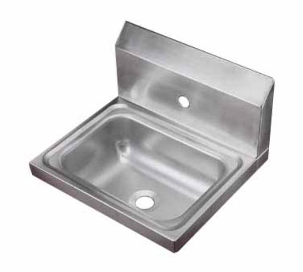 Polar Ware 1411 Yukon Hand Sink Wall Mount 17 in x 15 in x 5-1/2 in Restaurant Supply