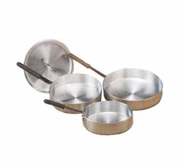 Polar Ware 1512 Saute Pan, 5 Qt., 11-3/4 in x 2-1/2 in, Uncoated Aluminum