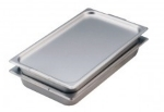 Polar Ware 2000F-2 Full Size Steam Table Pan Cover, Solid, Stainless Steel