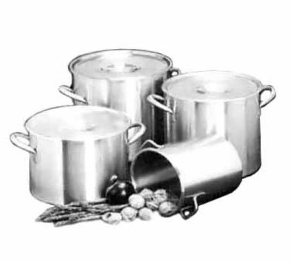 Polar Ware 320 Stock Pot w/o Cover, 32 Qt., Corrosion Resistant Stainless Steel