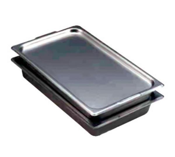 Polar Ware 2012 Steam Table Pan Cover, Full Size, Solid, Stainless Steel, NSF