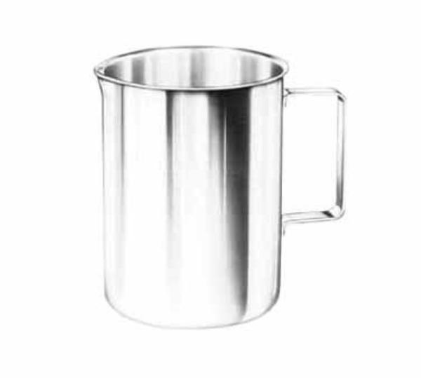 Polar Ware 3W Pitcher, 3 Qt., Straight Sided, Stainless Steel