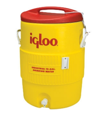 Polar Ware 4101 10-Gallon Igloo Beverage Cooler, Dispenser & Pressure Fit Lid