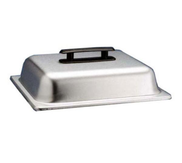 Polar Ware 4517-2 Half Size Chafer Cover Only, Stainless Steel w/Black Plastic Handles