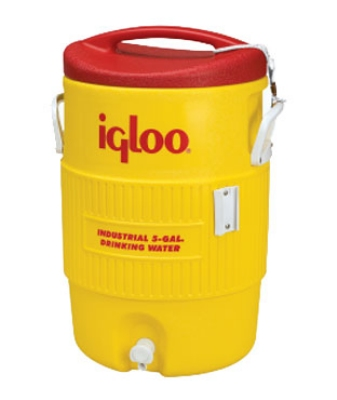 Polar Ware 451 5-Gallon Igloo Beverage Cooler, Dispenser & Pressure Fit Lid