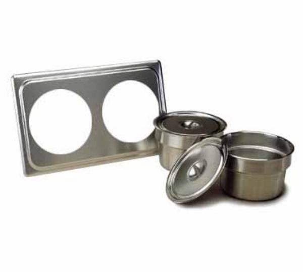 Polar Ware 8588 Soup and Sauce Serving Set, 18-8 Stainless Steel, NSF