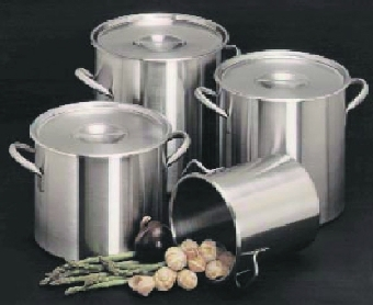 Polar Ware 800 80 qt Stainless Steel Stock Pot