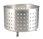 Polar Ware C7920 Aluminum AdvantEdge Boiler or Fryer Basket, Fits 12 and 16 qt Stock Pots
