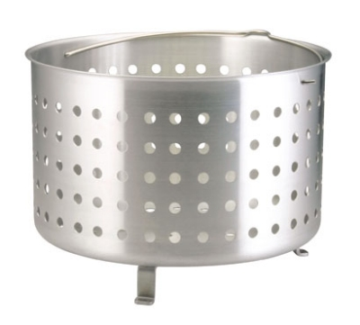 Polar Ware C7920 Aluminum AdvantEdge Boiler or Fryer Basket, Fits 12 and 16 qt Stock Pots