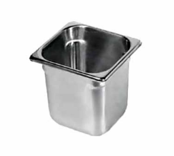 Polar Ware E06062 Steam Table Pan, 1/6 Size, 2-1/2 in Deep, 22 Gauge Stainless Steel