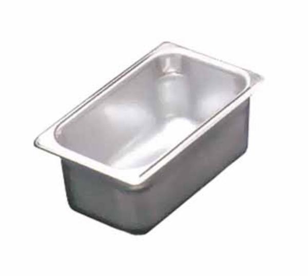 Polar Ware E10062 1/4-Size Steam Pan, 2.5-in Deep, 22-Ga. Stainless