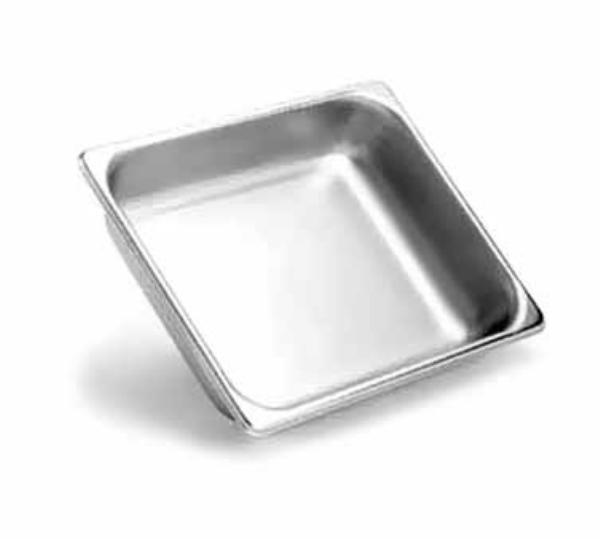 Polar Ware S12106 Steam Table Pan, 1/2 Size, 6 in Depth, 20 Gauge Stainless Steel, NSF