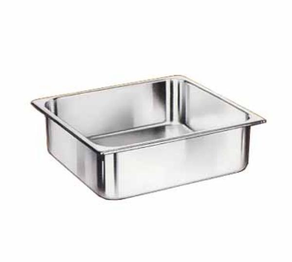 Polar Ware E2306 Steam Table Pan, 2/3 Size, 6 in Deep. 22 Gauge Stainless Steel, NSF