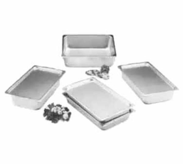 Polar Ware F2000 Steam Table Pan, Full Size Transport, Stainless Steel, NSF