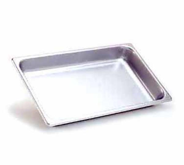 Polar Ware S20126 Steam Table Pan, Full Size, 6 in Deep, 20 Gauge Stainless Steel