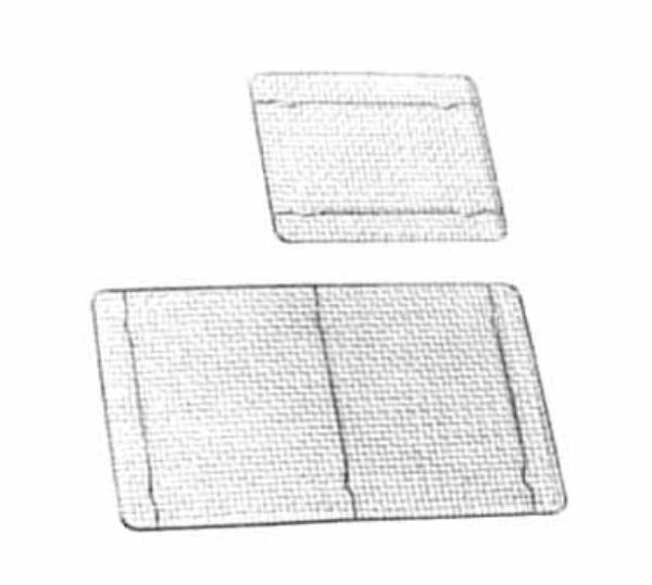 Polar Ware T1312W Wire Grate, 1/2 Size, Chrome Plated