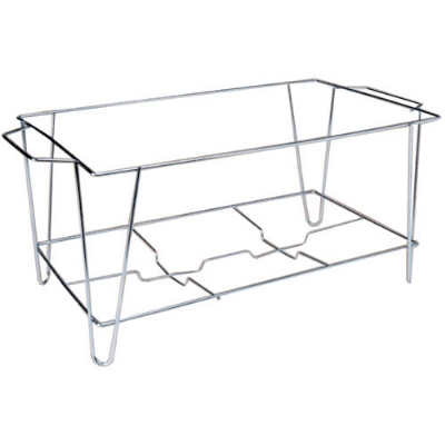 Polar Ware T189F Chafer Frame, for Use With Full Size Foil Pans, Stainless Steel