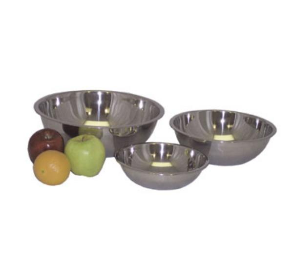 Polar Ware T2238 8 qt Value Series Mixing Bowl Stainless Steel Restaurant Supply
