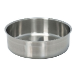 Polar Ware T3505WP Chafer Water Pan, for 7 qt Round Chafer, Stainless Steel