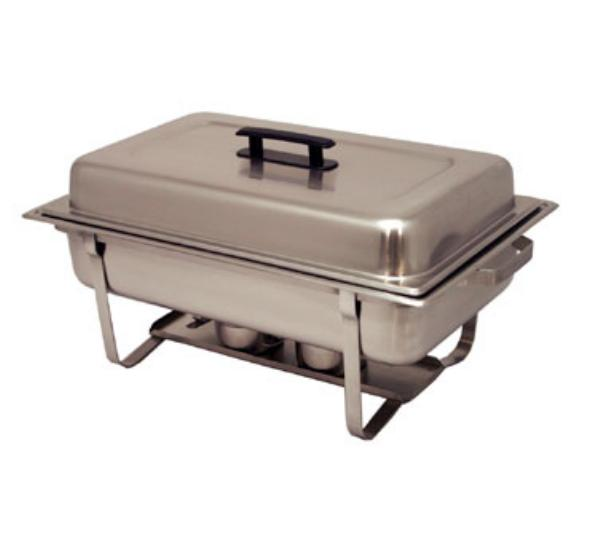 Polar Ware T3510 8 qt Economy Chafer, Stackable, Dome Cover with Handle
