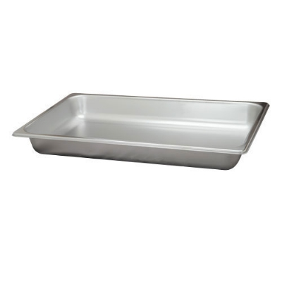 Polar Ware VX112 8-1/2 qt Value Series Steam Table Pan, Full Size, 2-1/2 in Deep, Solid