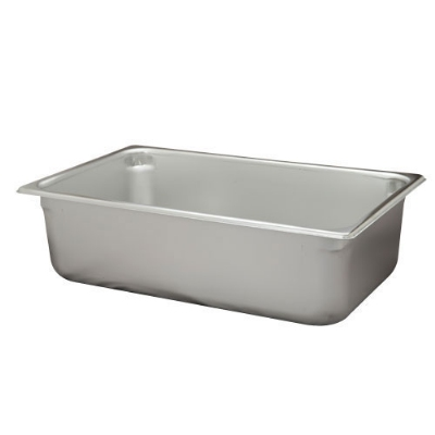 Polar Ware VX116 24 qt Value Series Steam Table Pan, Full Size, 6 in Deep, Solid