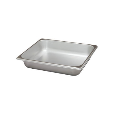Polar Ware VX122 4 qt Value Series Steam Table Pan, Half Size, 2-1/2 in Deep, Solid
