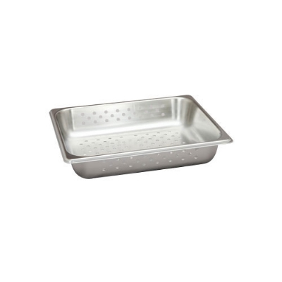 Polar Ware VX122P 1/2-Size Perforated Stainless Steam Pan, 2.5-in Deep
