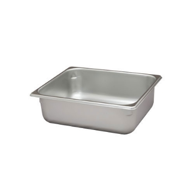 Polar Ware VX124 7 qt Value Series Steam Table Pan, Half Size, 4 in Deep, Solid