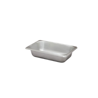 Polar Ware VX132 1/3-Size Steam Pan, 2.5-in Deep, 24 Ga. Stainless