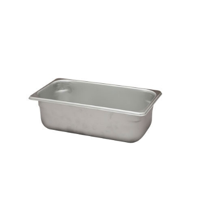 Polar Ware VX134 4-1/2 qt Value Series Steam Table Pan, Third Size, 4 in Deep, Solid