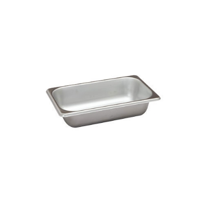 Polar Ware VX142 1/4-Size Steam Pan, 2.5-in Deep, 24 Ga. Stainless
