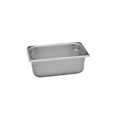 Polar Ware VX144 2-7/8 qt Value Series Steam Table Pan, Fourth Size, 4 in Deep, Solid