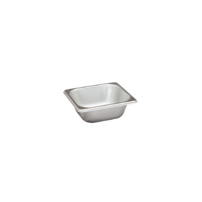 Polar Ware VX162 1 qt Value Series Steam Table Pan, Sixth Size, 2-1/2 in Deep, Solid
