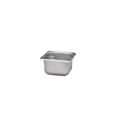 Polar Ware VX164 1-7/8 qt Value Series Steam Table Pan, Sixth Size, 4 in Deep, Solid
