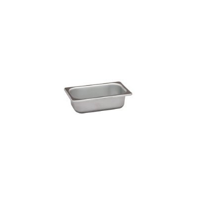 Polar Ware VX192 3/5 qt Value Series Steam Table Pan, Ninth Size, 2-1/2 in Deep, Solid