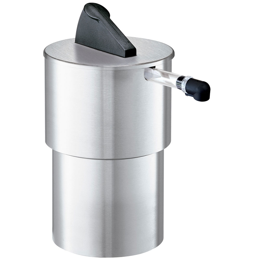 Server 07030 1.5-Gallon Round Dispenser, Portion Control For 1-Pouch, Stainless