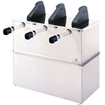 Server 07050 Drop In 3-Pump Dispenser For 3-Pouches, Stainless Base