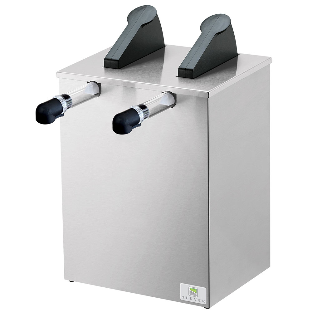 Server 07140 SE-2 Server Express Dispenser, 2 Pump, (2) 1 1/2 Gal Cryovac Pouches