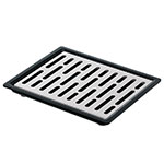 Server 07291 Single Drip Tray Assembly, 6-7/8 in x 5-7/8 in, Set On or Drop-In Countertop