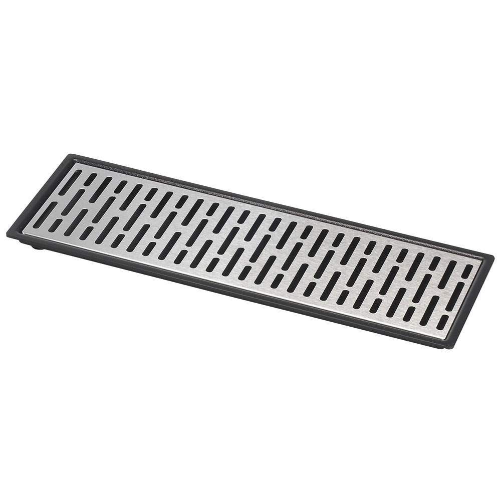 "Server 07295 Triple Drip Tray Assembly, 16-7/8"" X 5-7/8 in, Set On or Drop-In Countertop"