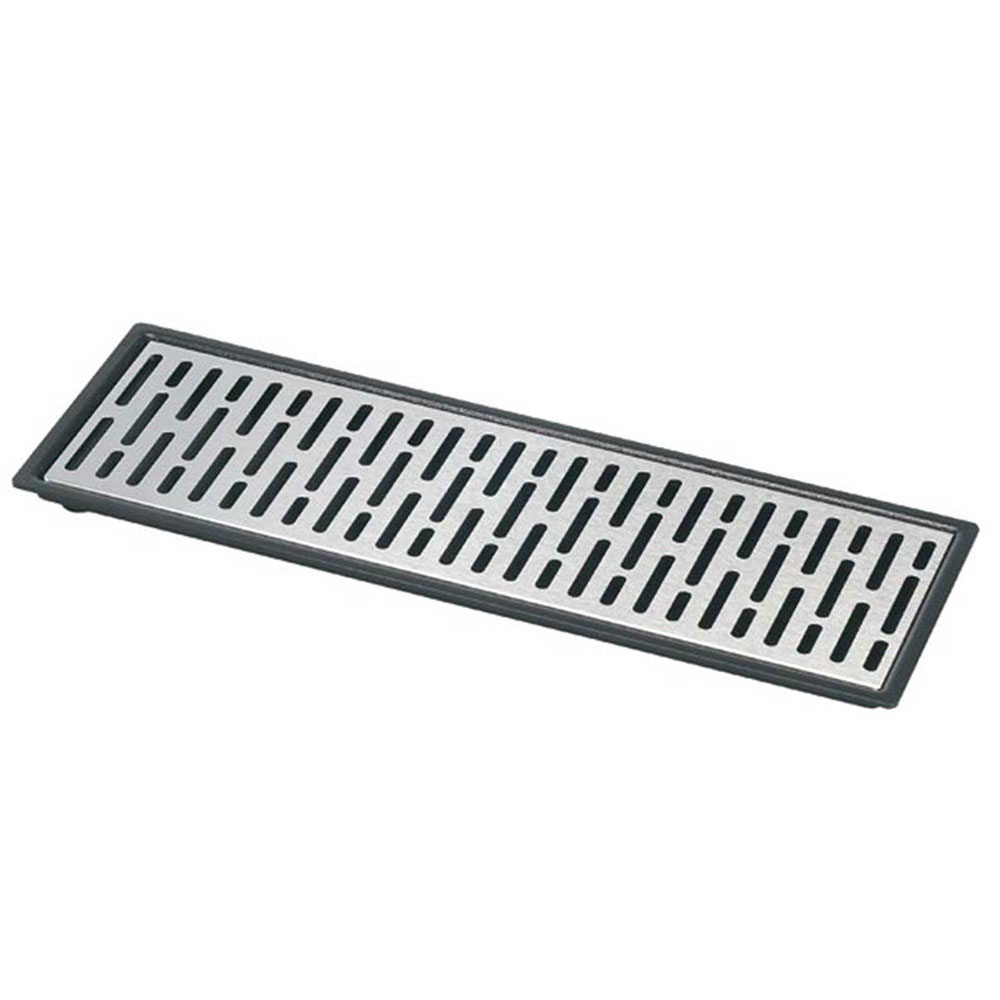 "Server 07324 Quad Drip Tray Assembly, 22-3/16"" X 5-7/8 in, Set On or Drop-In Countertop"