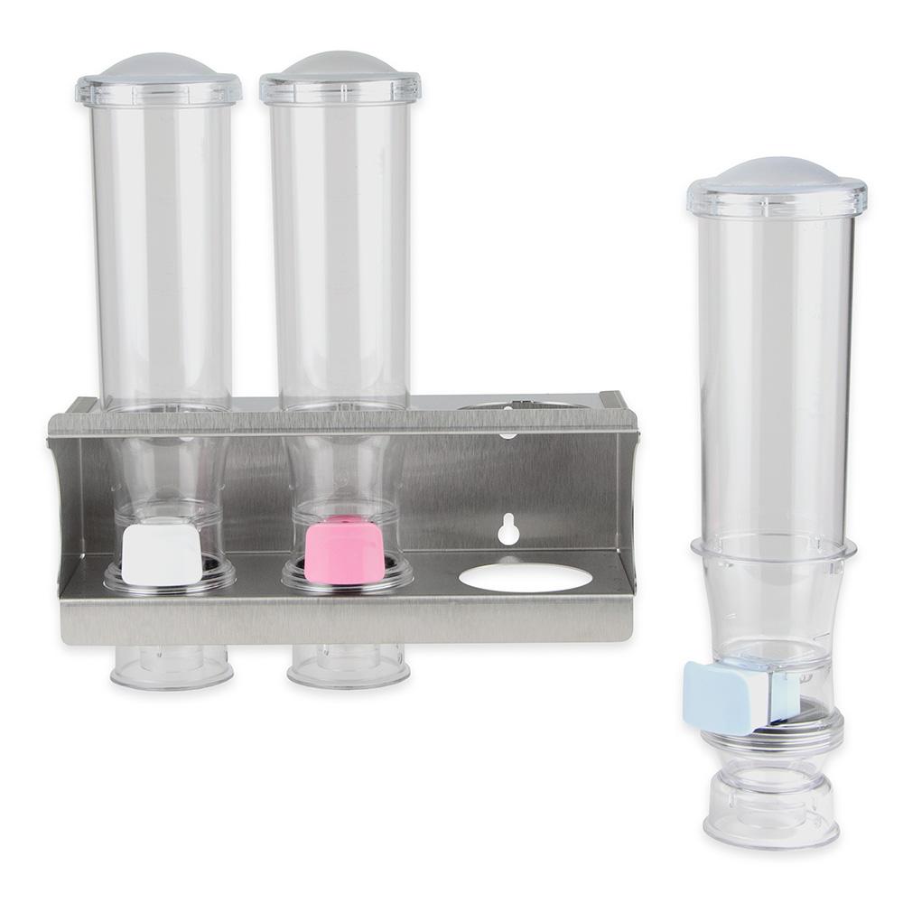 Server 80103 Wall-Mount Dry Product Station w/ Rack - (3) 24-oz Dispenser